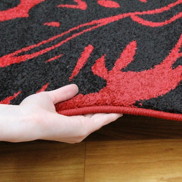 Swift Metro Modern Rug  Red