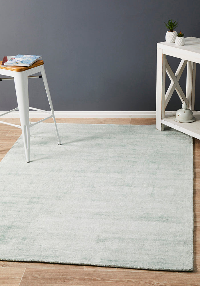 Twilight Collection Sky Blue Rug