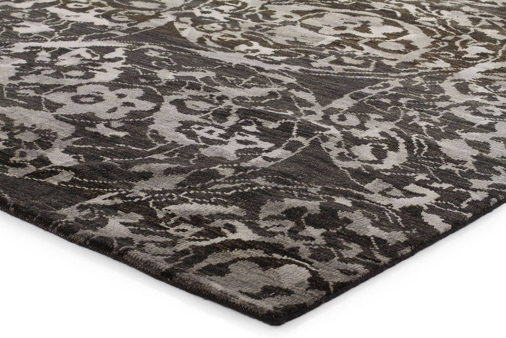 Urban knots Pure Wool Batik Rug