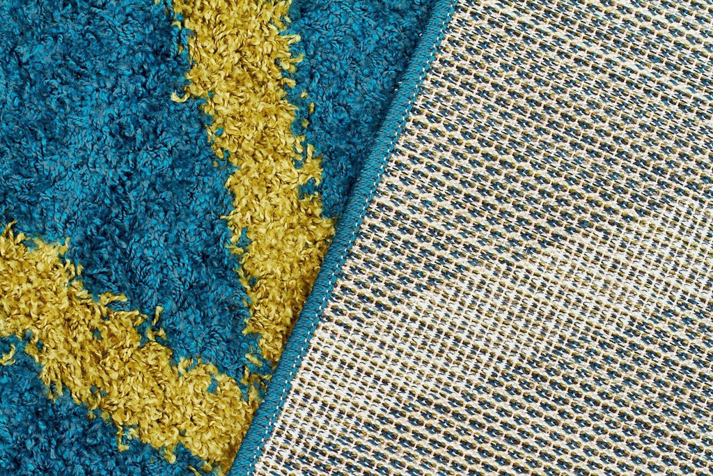Viva Collection 804 Blue Rug