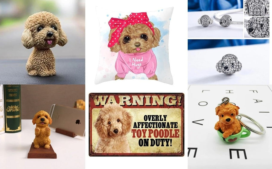 12 Cutest Gifts for Toy Poodle, Cockapoo, Labradoodle, Maltipoo and Goldendoodle Lovers