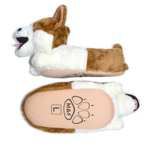 Load image into Gallery viewer, 3D Corgi Love Warm Indoor SlippersSlippers