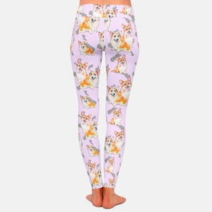 Infinite Corgi Love Women's Leggings