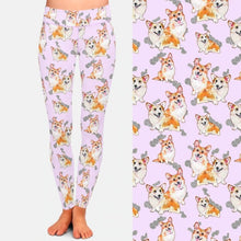 Load image into Gallery viewer, Infinite Corgi Love Women's Leggings