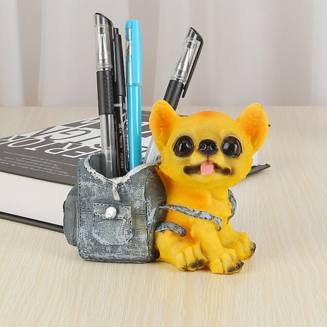 Chihuahua Love Desktop Pen or Pencil Holder