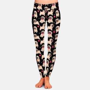 Infinite Pug Love Women's Leggings