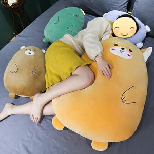 Shiba Egg and Friends Huggable Plush Toy Pillows