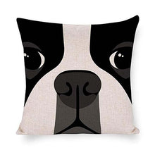 Load image into Gallery viewer, Abstract Boston Terrier Cushion CoverHome Decor