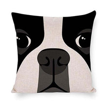 Load image into Gallery viewer, Abstract Boston Terrier Cushion CoverHome DecorDefault Title