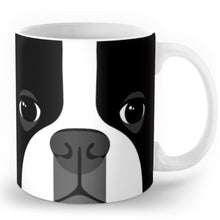 Load image into Gallery viewer, Abstract Boston Terrier MugMug