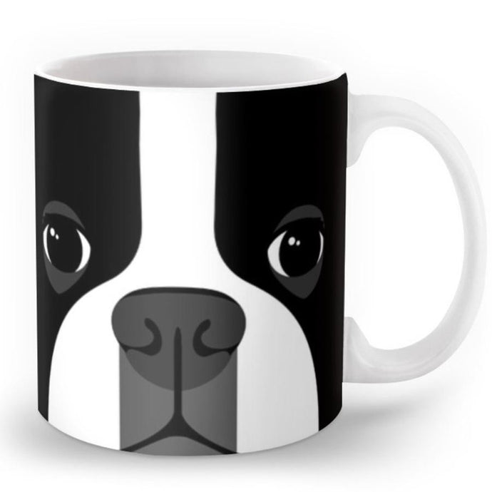 Abstract Boston Terrier MugMug