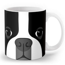 Load image into Gallery viewer, Abstract Boston Terrier MugMugDefault Title