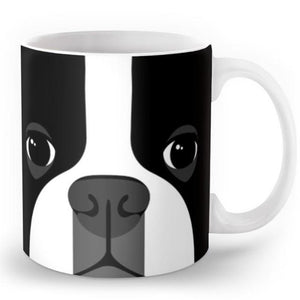 Abstract Boston Terrier MugMugDefault Title