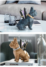 Load image into Gallery viewer, Abstract French Bulldog Table Top Pen or Pencil HolderHome Decor