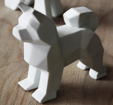 Load image into Gallery viewer, Abstract Schnauzer and Samoyed Ceramic SculptureHome DecorSamoyed