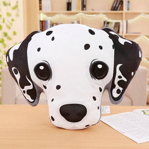 Adorable Bichon Frise Sofa CushionHome DecorDalmatian