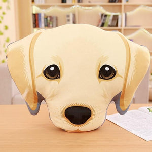 Adorable Bichon Frise Sofa CushionHome DecorLabrador