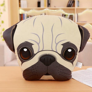 Adorable Bichon Frise Sofa CushionHome DecorPug