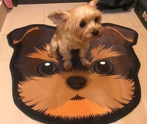 Cutest Doggo Floor RugHome DecorYorkie / Yorkshire TerrierMedium