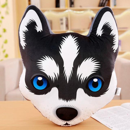 Adorable Husky Sofa CushionHome DecorHusky