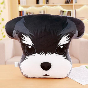 Adorable Husky Sofa CushionHome DecorMini Schnauzer
