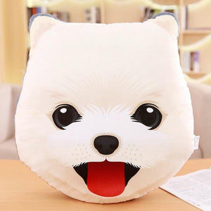 Adorable Husky Sofa CushionHome DecorPomeranian / American Eskimo Dog / Spitz