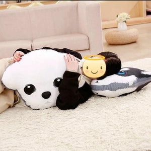 Adorable Labrador Sofa CushionHome Decor