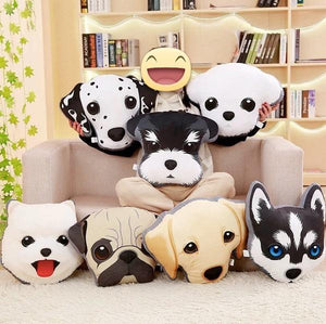 Adorable Pomeranian / Eskimo Dog / Spitz Sofa CushionHome Decor