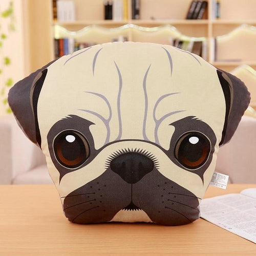 Adorable Pug Sofa CushionHome DecorPug