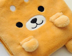 Akita / Shiba Inu Love Hot Water Bottle Plush Hand WarmerHome Decor