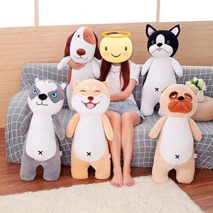 Akita / Shiba Inu Love Huggable Stuffed Toy PillowHome Decor