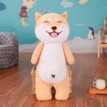Load image into Gallery viewer, Akita / Shiba Inu Love Huggable Stuffed Toy PillowHome DecorAkita / Shiba InuSmall