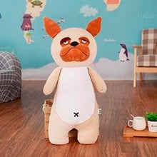 Load image into Gallery viewer, Akita / Shiba Inu Love Huggable Stuffed Toy PillowHome DecorPugSmall