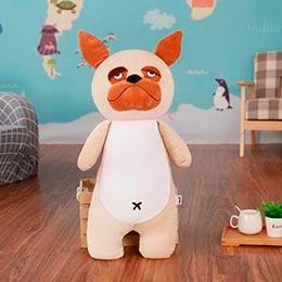 Akita / Shiba Inu Love Huggable Stuffed Toy PillowHome DecorPugSmall