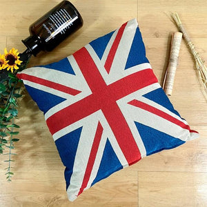 All American and British English Bulldogs Cushion CoversCushion CoverOne SizeUnion Jack
