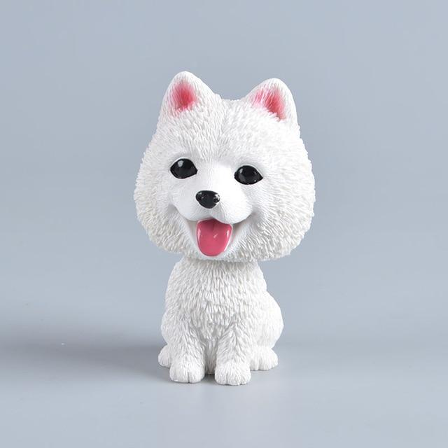 American Eskimo Dog / Pomeranian / Samoyed / Spitz Love Car Bobble HeadCarAmerican Eskimo Dog / Pomeranian / Samoyed / Spitz