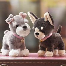 Load image into Gallery viewer, Baby Chihuahua and Schnauzer Love Stuffed Animal Plush ToysSoft Toy