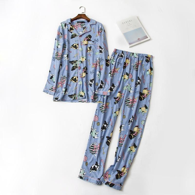Baby French Bulldog 100% Cotton Pajama Set