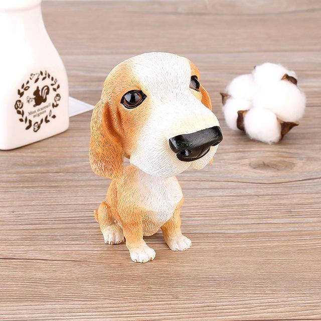 Basset Hound Love Car Bobble HeadCarBasset Hound