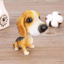 Load image into Gallery viewer, Basset Hound Love Car Bobble HeadCarBeagle