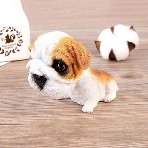 Basset Hound Love Car Bobble HeadCarEnglish Bulldog