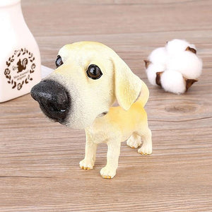 Basset Hound Love Car Bobble HeadCarLabrador Standing