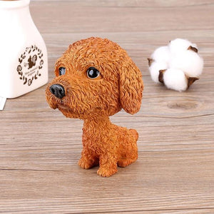 Basset Hound Love Car Bobble HeadCarPoodle