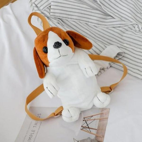 Beagle Love Plush BackpackAccessoriesBeagle