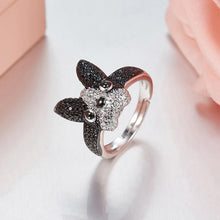 Load image into Gallery viewer, Beautiful Boston Terrier / French Bulldog Silver RingRing