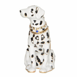 Beautiful Dalmatian Love Small Jewellery Box FigurineHome Decor