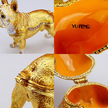 Load image into Gallery viewer, Beautiful French Bulldog Love Jewellery BoxHome Decor