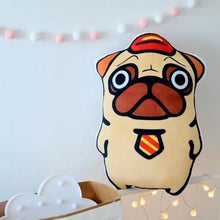 Load image into Gallery viewer, Best Friends Frenchie and Pug Huggable Cushion PillowsHome DecorPug