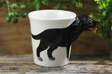 Load image into Gallery viewer, Black Labrador Love 3D Ceramic CupMug