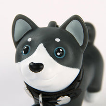 Load image into Gallery viewer, Blue Eyed Husky Love KeychainAccessories